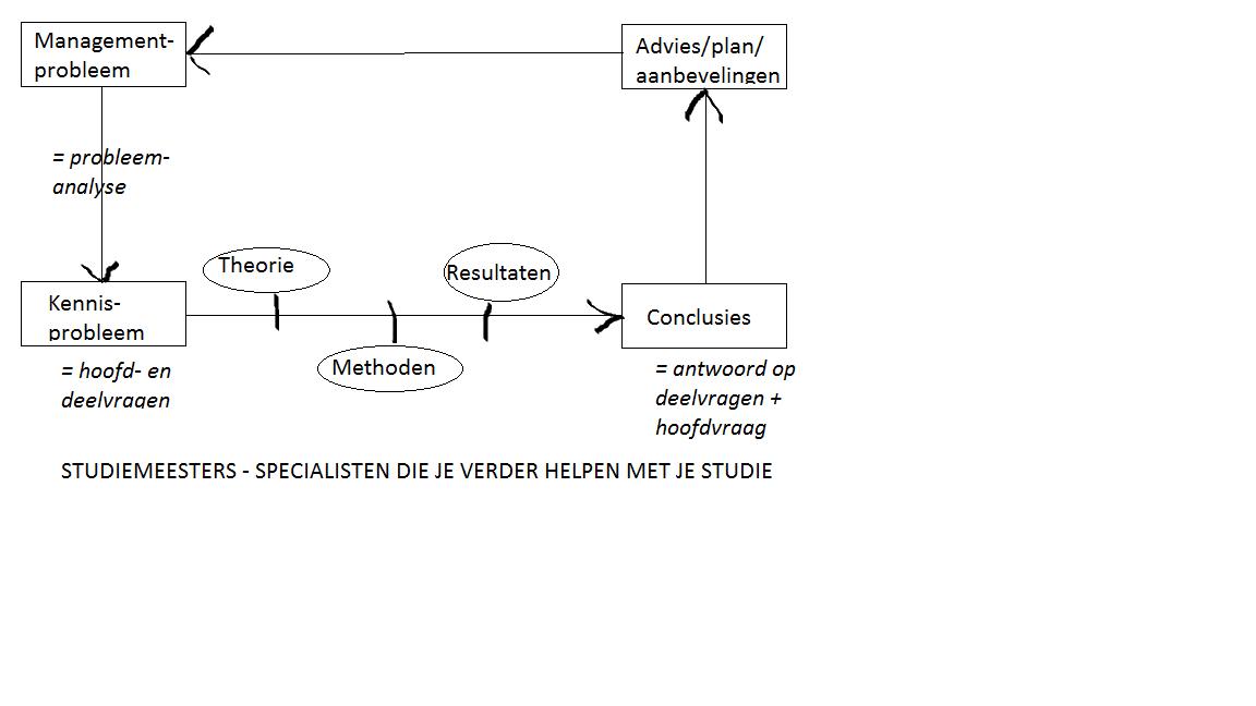 plan van aanpak voorbeeld Plan van aanpak voor de hbo scriptie: Help!   Studiemeesters